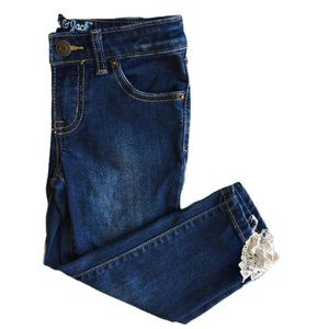 Cat & Jack Super Skinny Jeans with Lace Trim